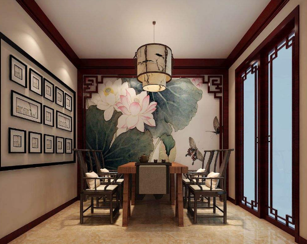 越古典,越時尚的中式餐廳裝修設計
