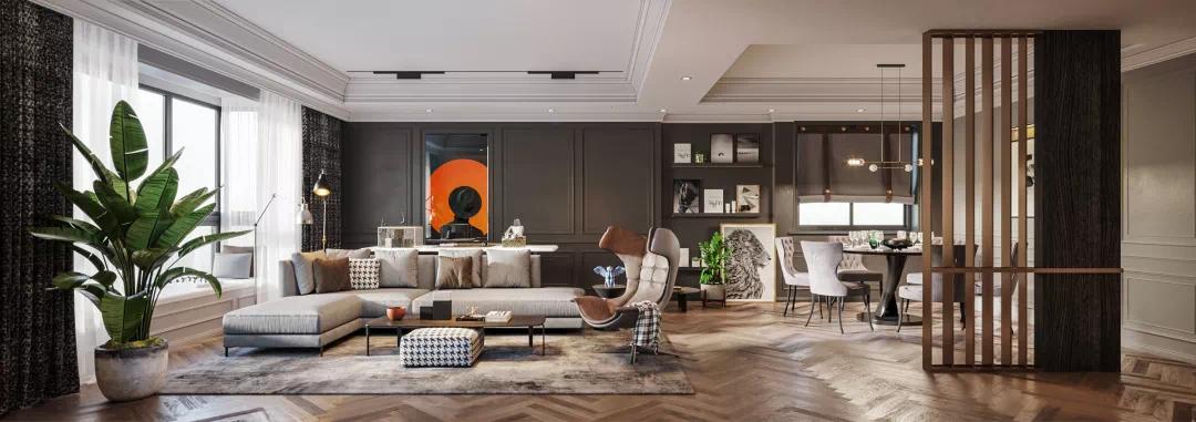 当你老了,你想住什么样的房子?看看这家人的现代混搭风 现代混搭 装修 第3张