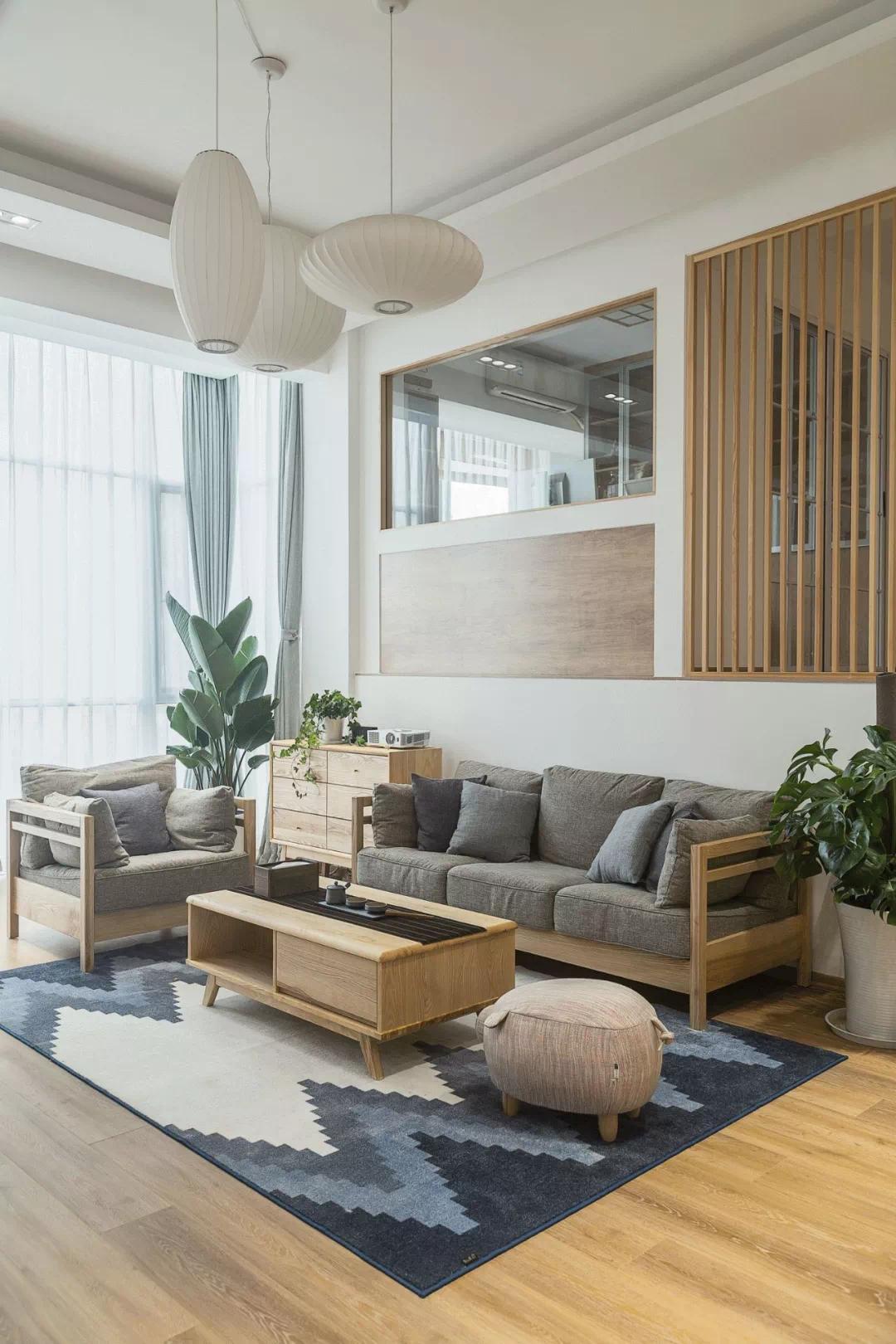 自然、舒适、简约、实用,把住宅做到了极致的日式风格 日式 软装 第17张