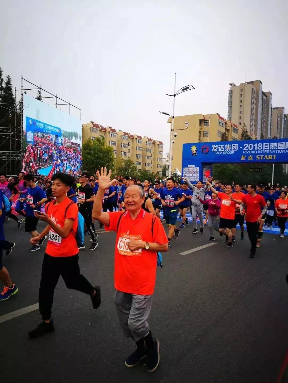 阳光奔跑,发达集团倾情助力2018日照国际马拉松!