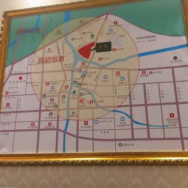 安吉溪上皇庭售樓中心 安吉買一層送一層住宅花園洋房贈送面積大