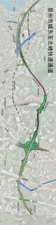 快了!城东至北峰快速通道预计明年春节前主线通车 路线这么走…