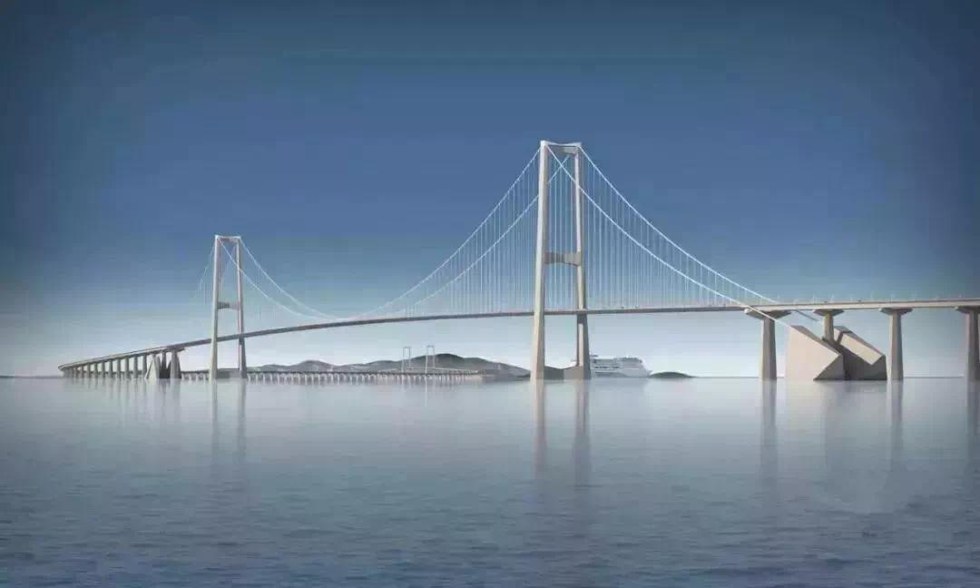 全球最高海上大桥——深中通道全面开建!预计2024年通车