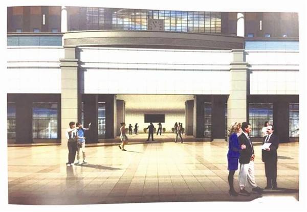 宜昌东站候车厅将迎华丽升级 架空层改成候车区