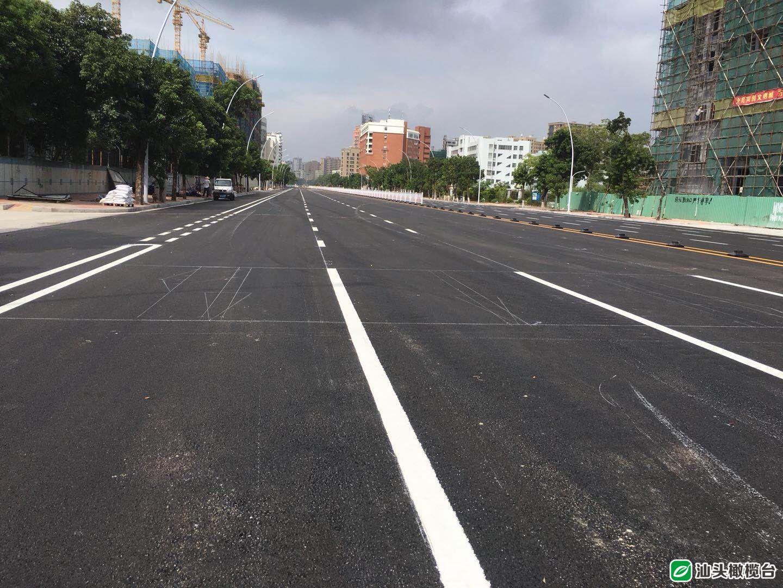 终于等到你!明晚9点,汕樟路、长江路车行道将全线试通车!