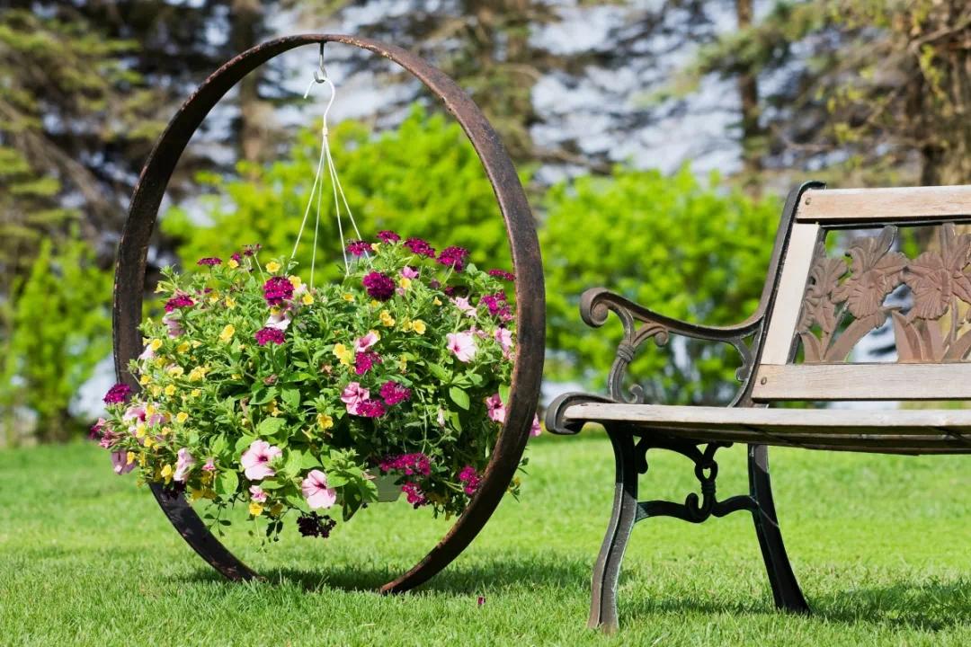 在园林般的仁诚雅居里,给家人提供一个清新的居住环境