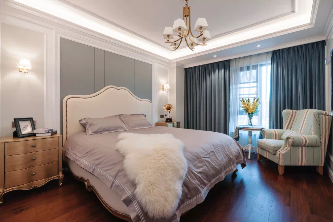 新中式轻奢风格经典设计:一扇门,两个世界,两种生活, 新中式 装修 第10张