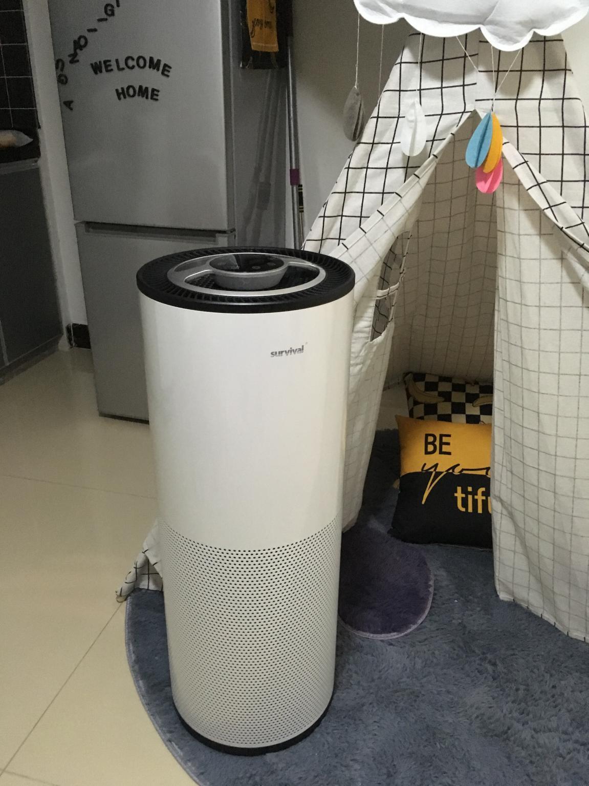 森晨S60空气净化器体验:时尚漂亮+高效净化+智能黑科技
