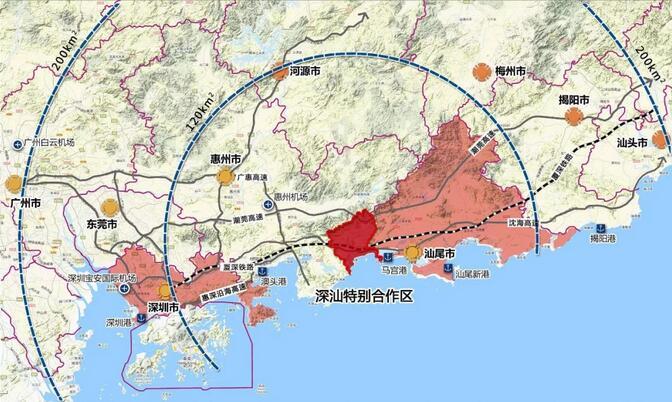 香港提出将租借大湾区30平方公里建港人新城!目测惠州最合适…