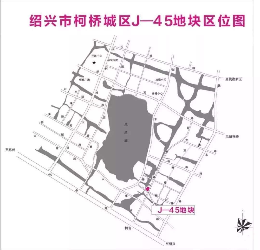 【土拍】7月下旬,柯桥瓜渚湖旁及上虞经济开发区共两宗地块出让