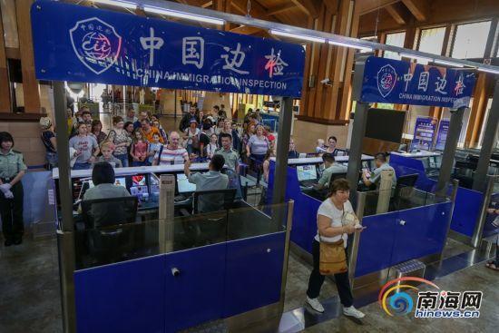 59国入境免签实施满月 海南入境免签游客2.4万人次