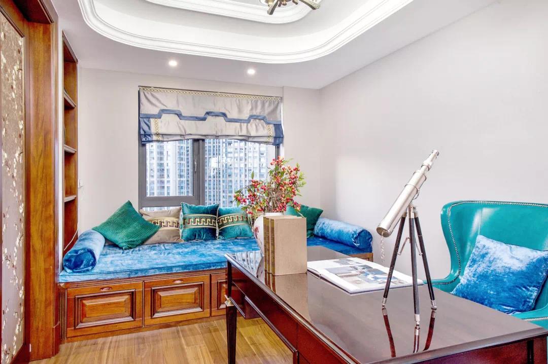 180m²中欧混搭的房子,古典、高贵、优雅,最终回归平静 混搭 第36张