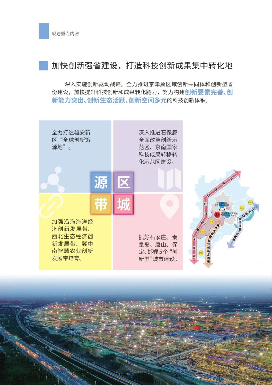 强化石家庄高端引领!河北省国土空间规划公开征求意见(图28)