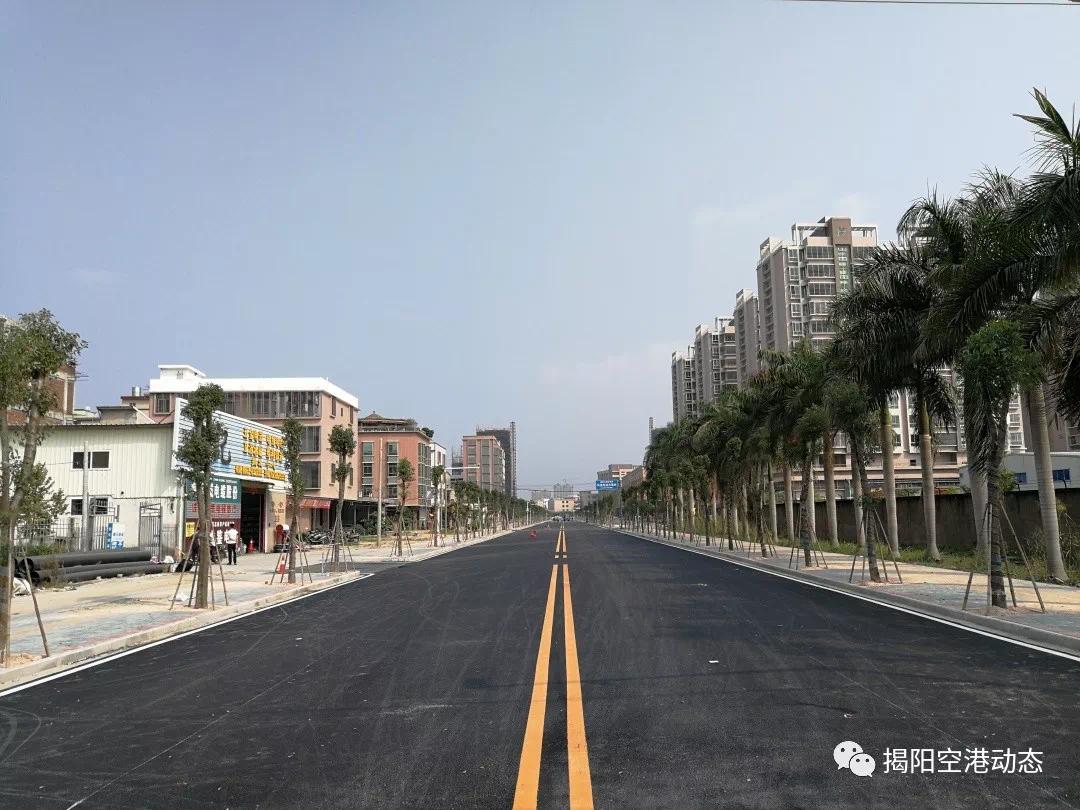 揭陽榕江新城建設大道三期改造工程將于本月底竣工!