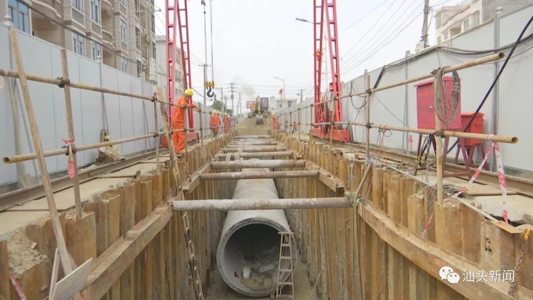 力爭年底前完成40%工程量,潮南全力加快污水處理廠及管網項目
