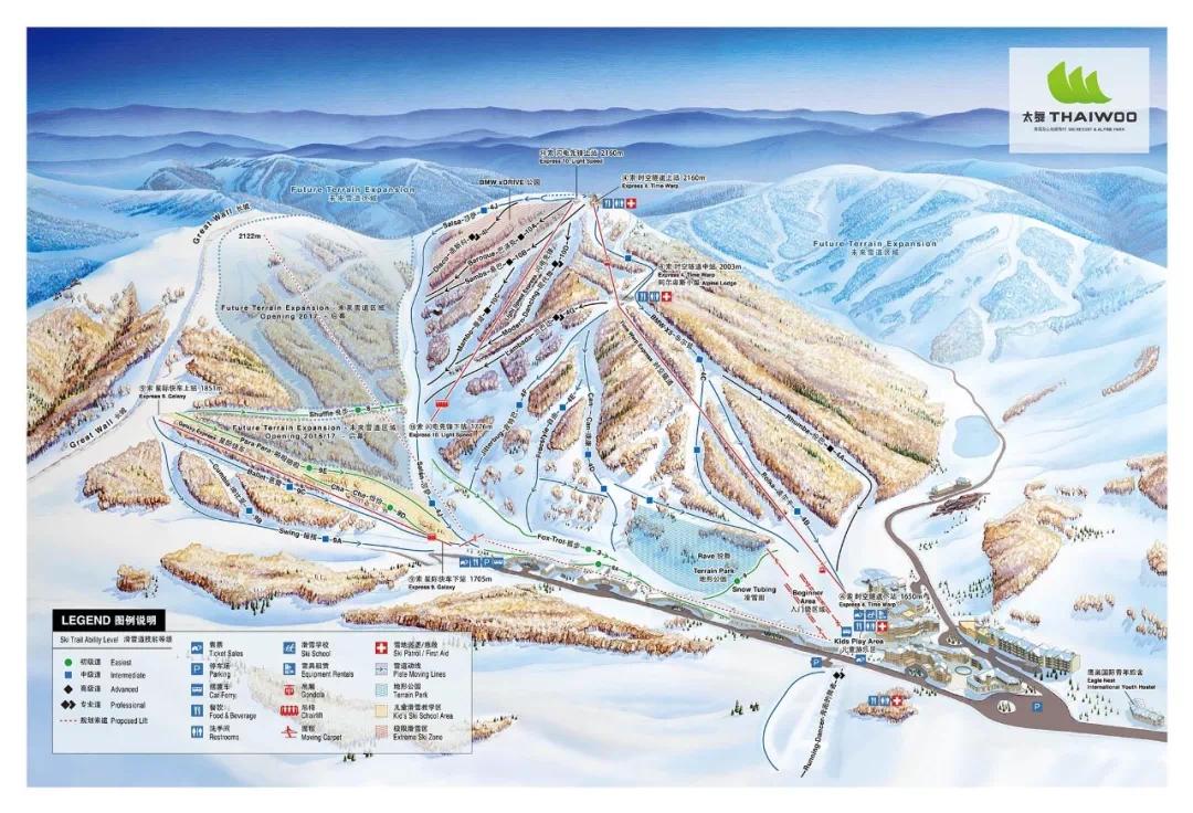 当代金悦广场∣滑雪胜地张家口,哪个雪场最好玩?