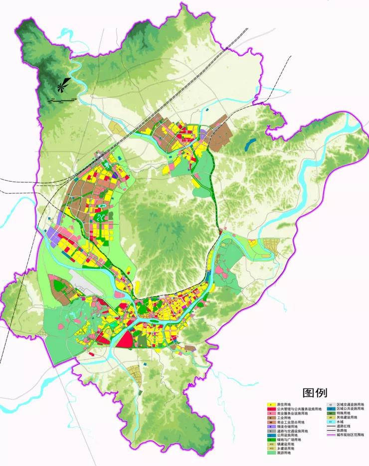 【分享】黄山城区规划更新了,中秋国庆回家置业推荐