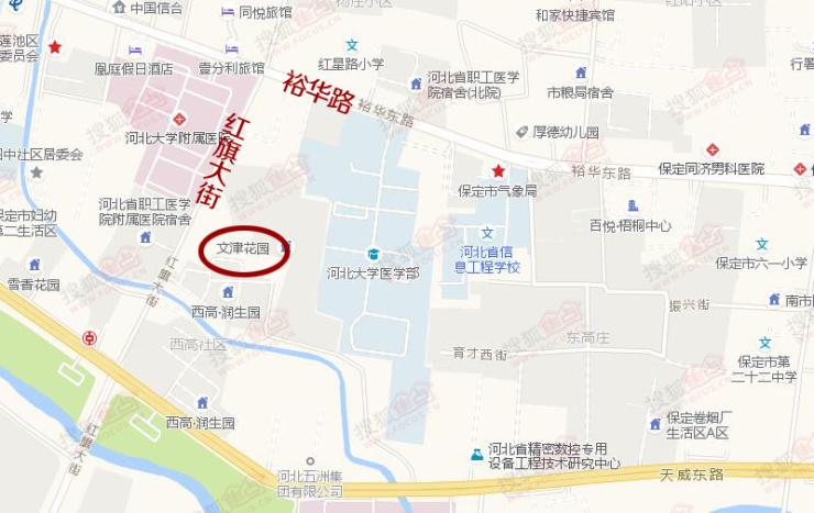 土拍丨保定1宗居住用地成功出让 或为文津花园补证