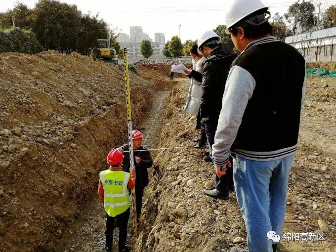 高新区道路改造升级换新颜 市政工程建设惠民生