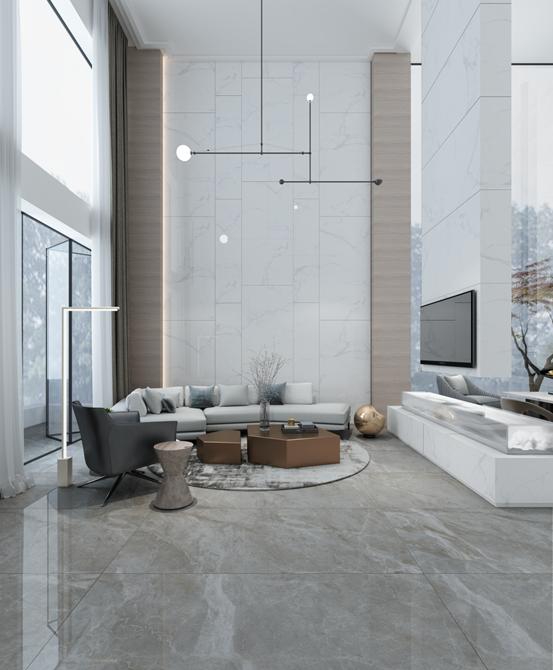 比例美學 用瓷磚詮釋空間的美
