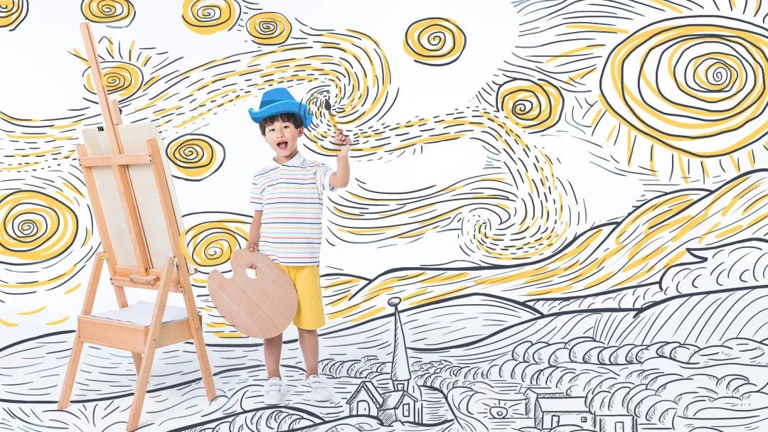 绿城德达玉园线上儿童绘画艺术大赛正式启幕!