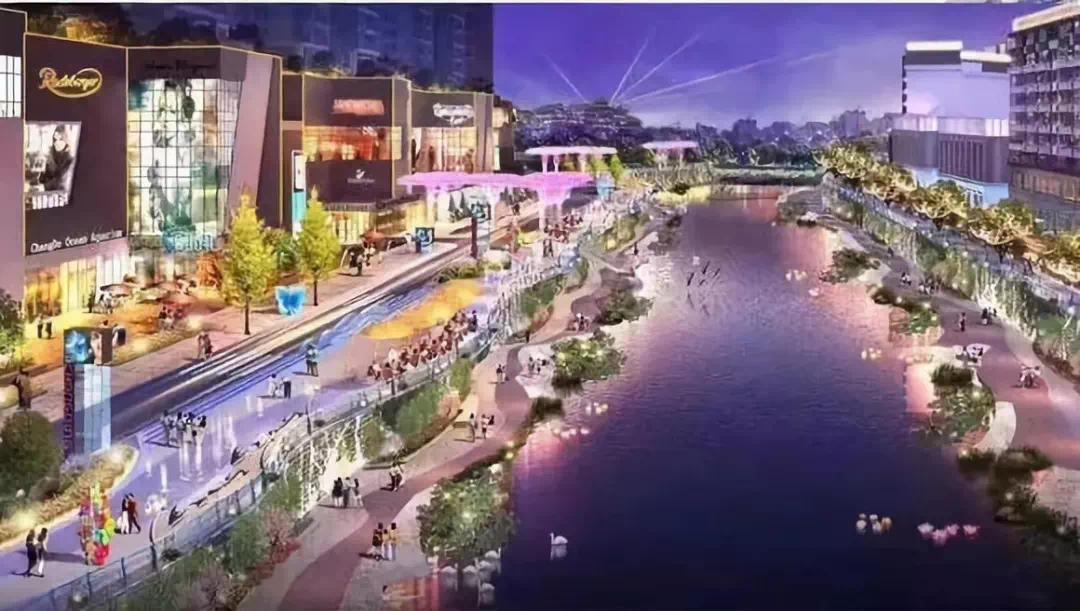 投资2.5亿元,遵义湘江河畔景观改造一期竣工