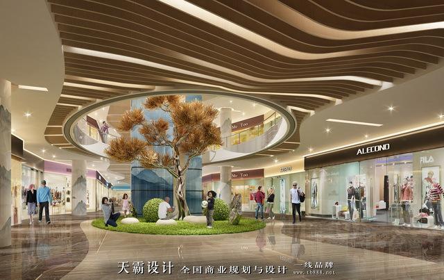 """超市设计案例:以""""泰山云海""""为设计理念的山东淄博好买购"""