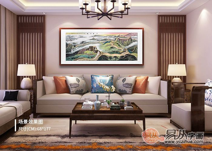 大气优雅的酒店环境,选择什么装饰画打造?