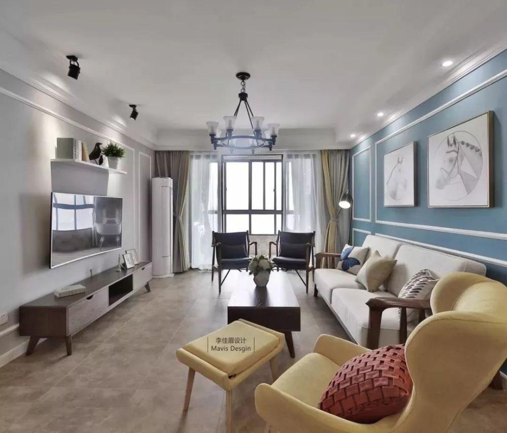 南京鹤立装修:立式空调,摆沙发墙好还是电视墙好?