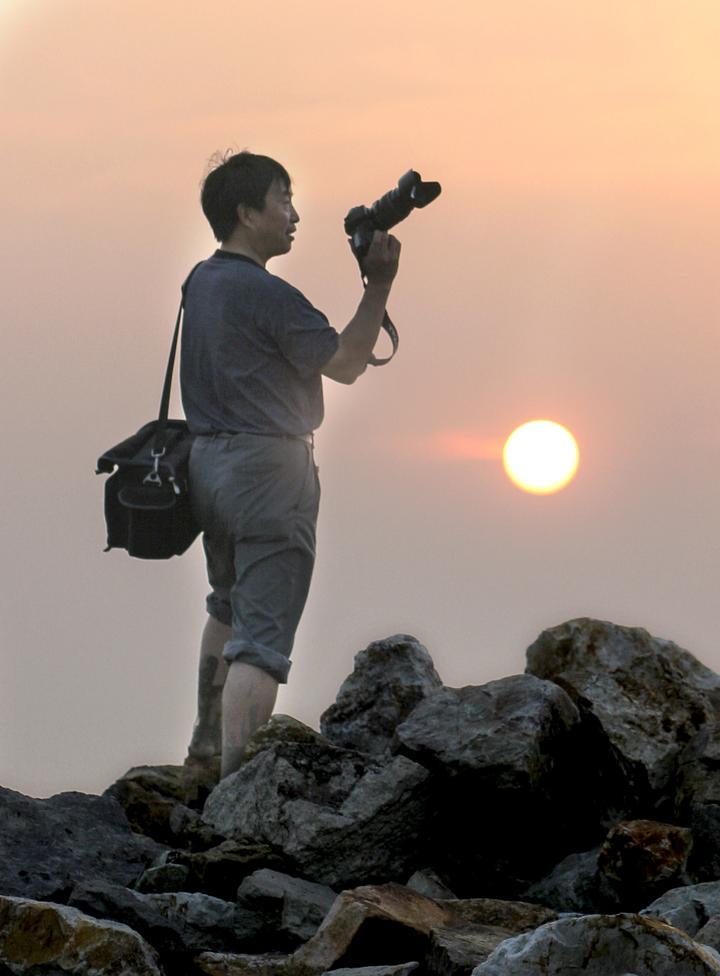 绍兴故事丨四代摄影师记录上虞一江两岸发展
