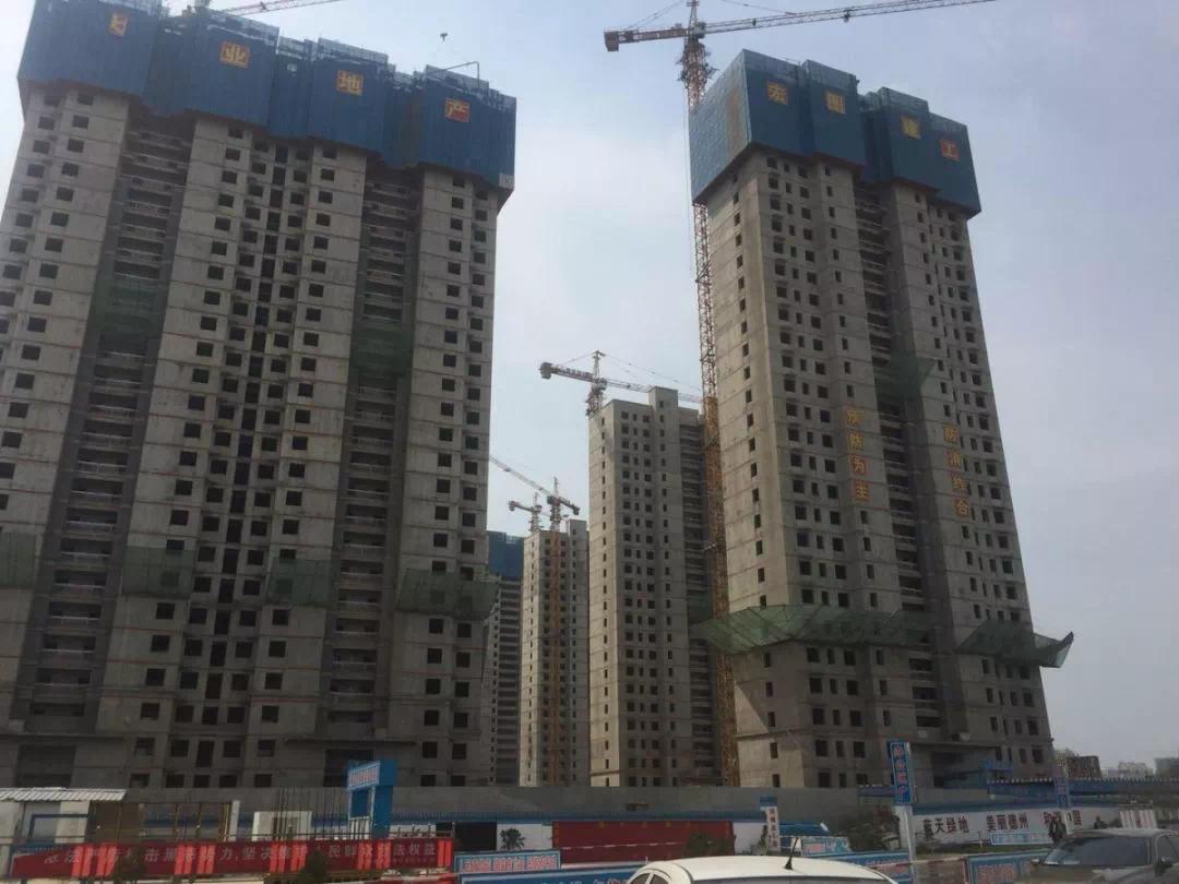 大业•锦绣阳光城26栋楼金日全线封顶,生态大境即将呈现