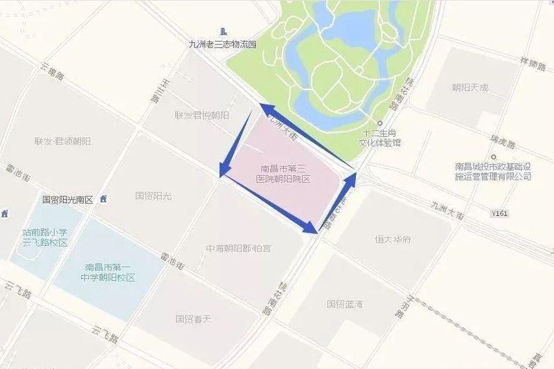 官宣!南昌市第三医院朝阳分院计划12月底正式营业