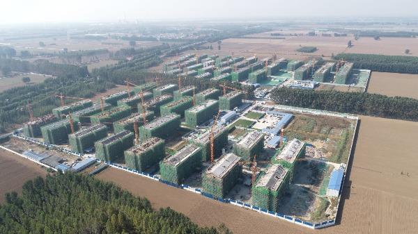 济宁石桥采煤塌陷区1750户村民将告别瓦房迁新居