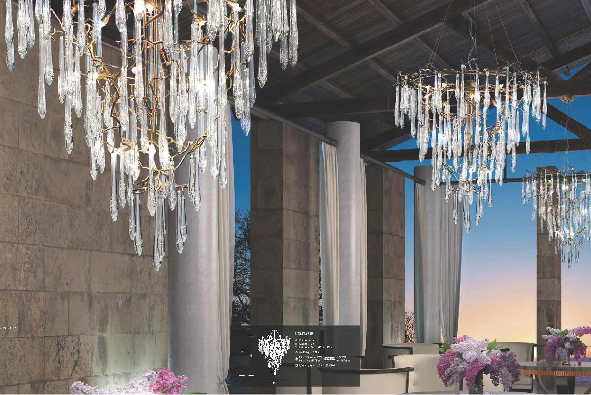 SERIP葡萄牙百年奢侈灯具品牌,走在童话里
