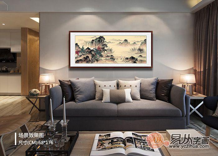 非常有创意的沙发背景墙挂画设计,看你有中意的吗?