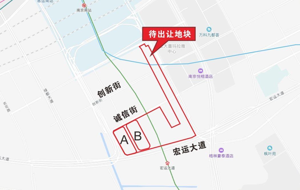 刚刚,南京第三批土地预公告出炉,7幅地超33万方