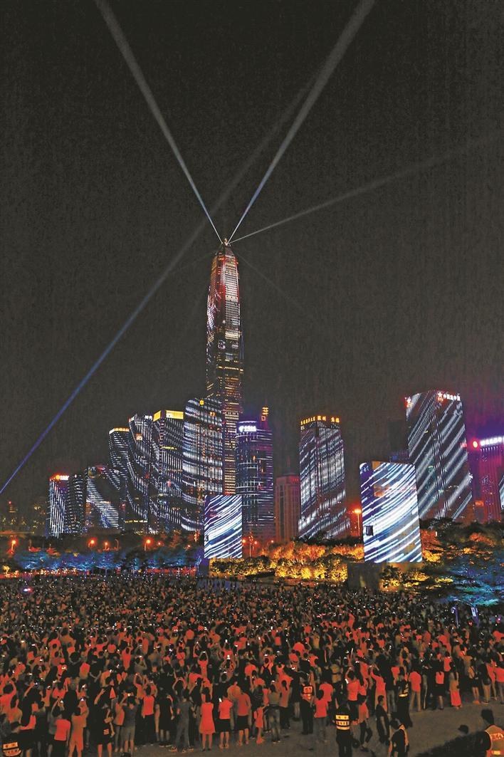深圳国庆旅游大数据来了!中心区灯光秀每场电费约839元