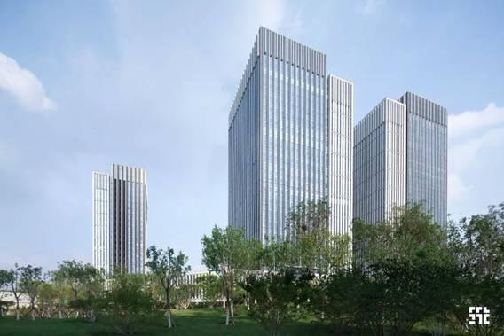 筑土项目,纵横延展的活力空间,新城市中心