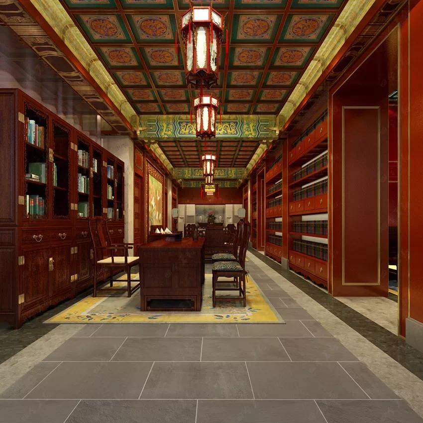 """将""""古今融合""""完美演绎的中式装修国医馆"""