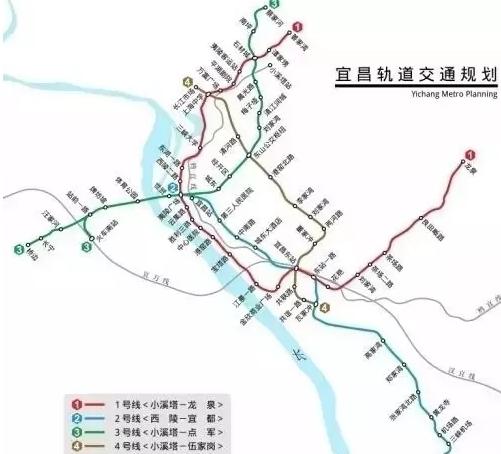 宜昌轨道2号线即将开建 沿途楼盘成热点