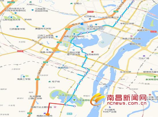 9月14日起南昌878、227、850路公交线路优化调整