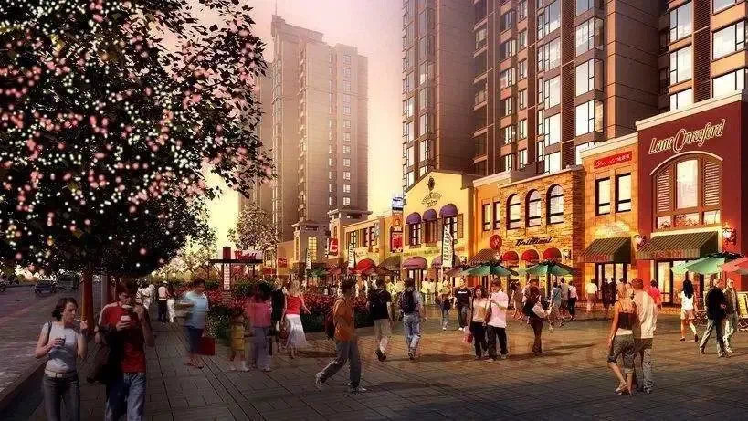 东方一品 世界名城商业街 是什么成就了它一铺难求