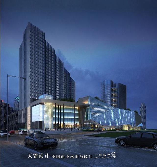"""武汉光谷世界城广场采用""""钻石切割""""设计理念,让人过目不忘!"""