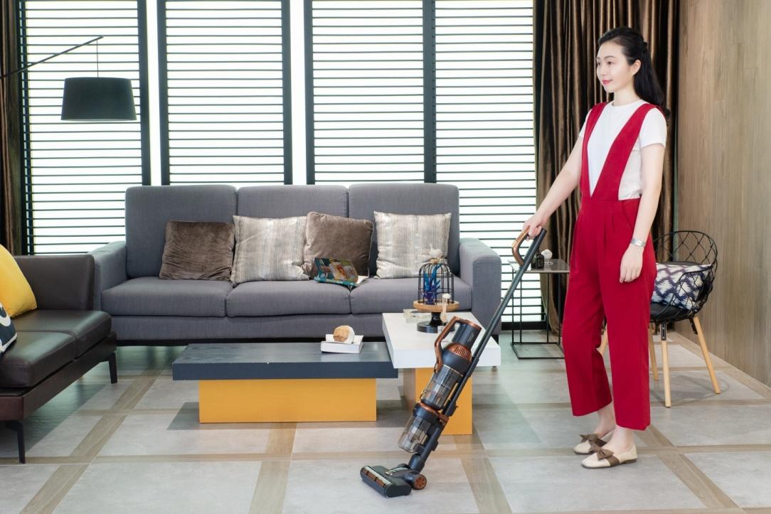 《【摩登3品牌】家务的理想清洁方式—莱克立式吸尘器M12MAX》