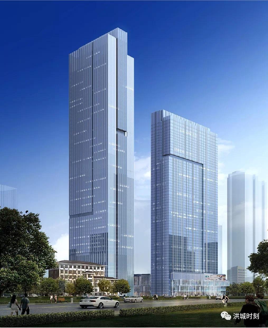 平安将在红谷滩新区建江西最高建筑!你觉得会落户在哪里?