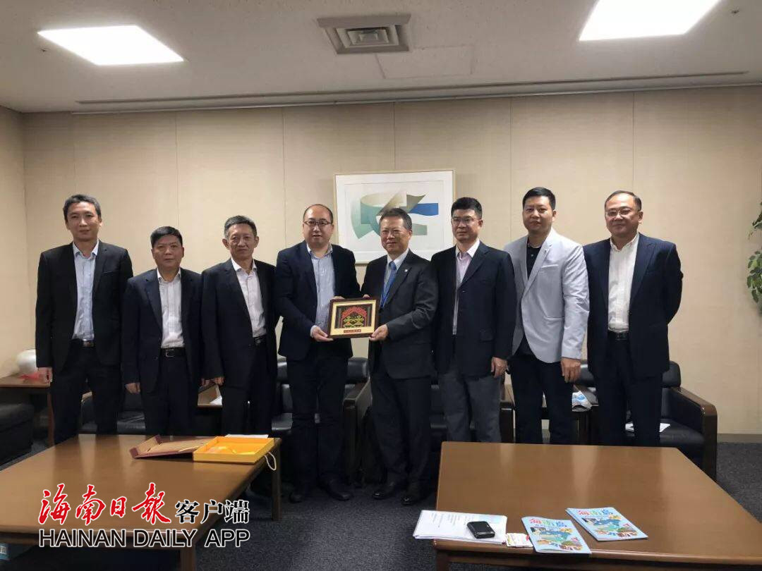 海南旅游代表团出访日本 推进直航开通促旅游合作