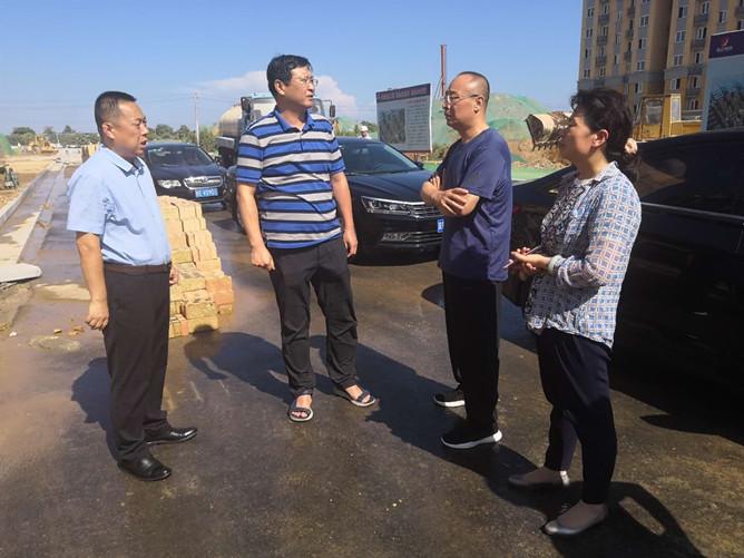 市国土资源局局长吴峰赴富平白水督导检查易地扶贫搬迁工作