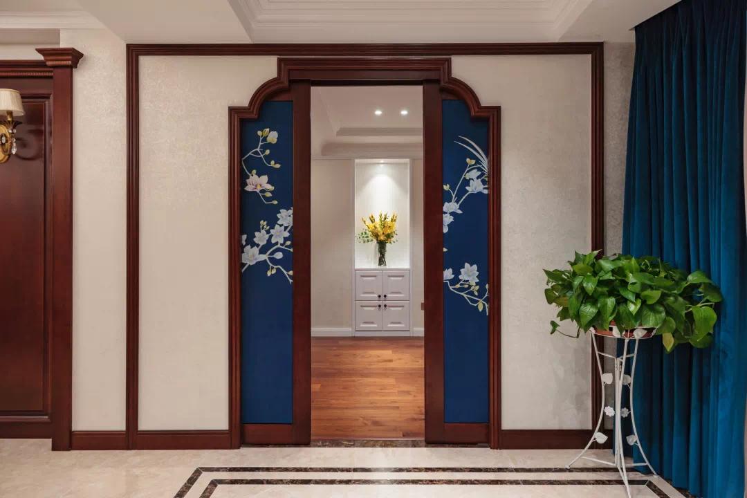 新中式轻奢风格经典设计:一扇门,两个世界,两种生活, 新中式 装修 第8张