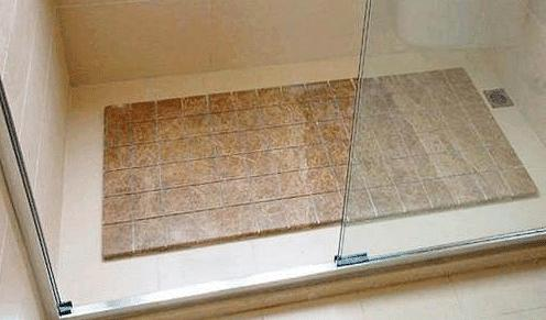 裝修時衛生間地面要不要放凹槽,看看這個