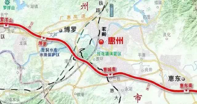 惠州到广州最快半小时!广汕铁路计划2022年底建成通车